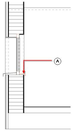 Analisi dello spigolo superiore del parapetto e del davanzale delle finestre - Altezza parapetto finestra ...